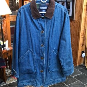Land's End Denim Barn Jacket